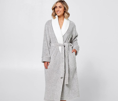 long sleeve sherpa gown target 404 x 346